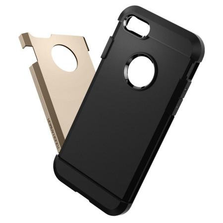 Spigen Tough Armor iPhone 7 Case - Champagne Gold