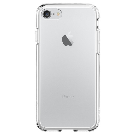 Spigen Ultra Hybrid iPhone 7 Bumper Case - Crystal Clear