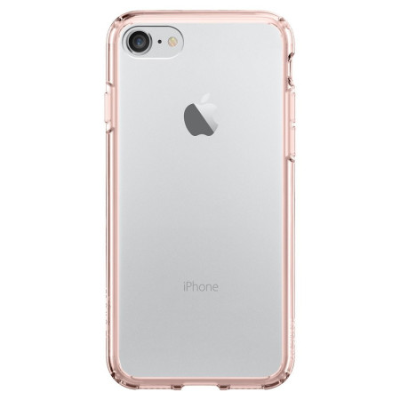 Spigen Ultra Hybrid iPhone 7 Bumper Case - Rose Crystal