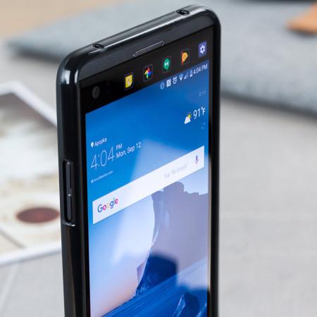 Olixar FlexiShield LG V20 Gel Case - Solid Black