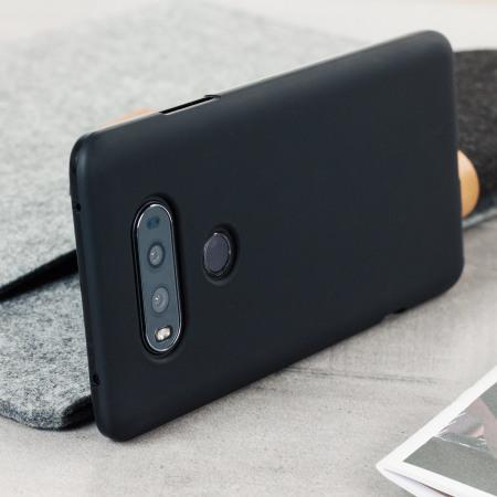 logically olixar flexishield lg v20 gel case solid black