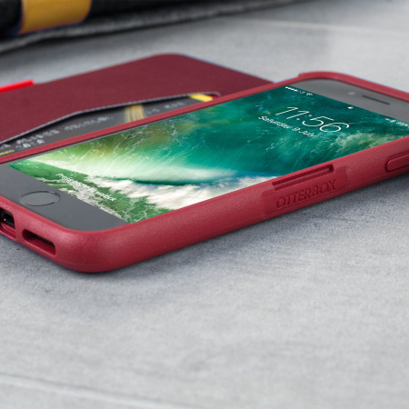 OtterBox Symmetry iPhone 8 / 7 Folio Wallet Case - Red