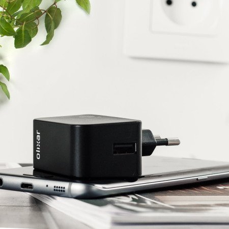 Olixar High Power 2.4A iPhone 6 Plus Wall Charger - EU Mains