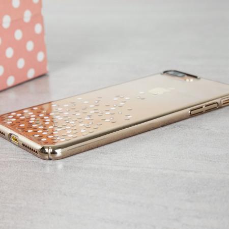 Unique Polka 360 iPhone 7 Plus Case - Champagne Gold