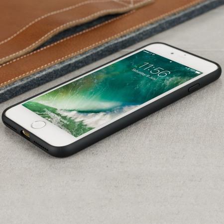 iphone 7 plus black. croco2 genuine leather iphone 8 plus / 7 case - black iphone
