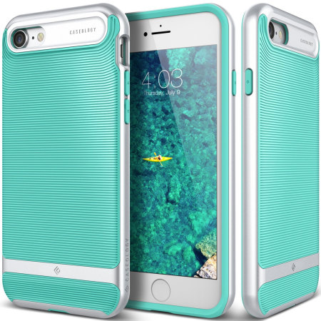 Caseology Wavelength Series iPhone 8 / 7 Case - Turquoise Mint