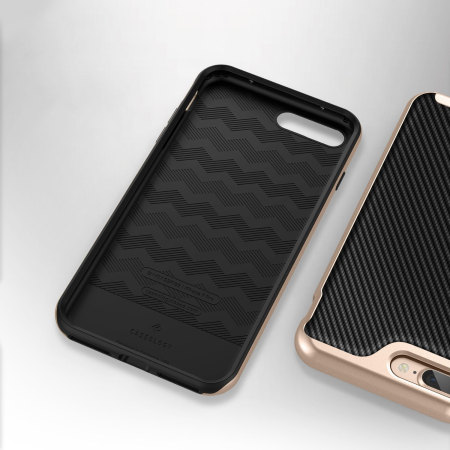 caseology envoy series iphone 7 plus h lle carbon fibre. Black Bedroom Furniture Sets. Home Design Ideas