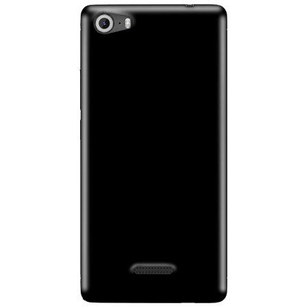 Olixar FlexiShield Wiko Fever SE Gel Case - Solid Black