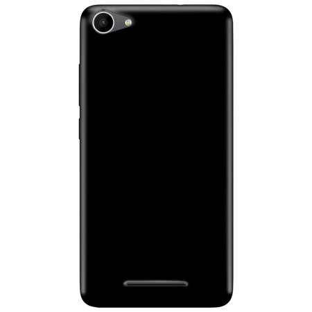 Olixar FlexiShield Wiko Jerry Gel Case - Solid Black