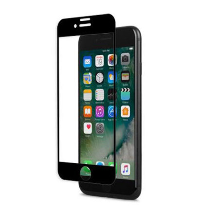 Moshi IonGlass iPhone 7 Glass Screen Protector - Black