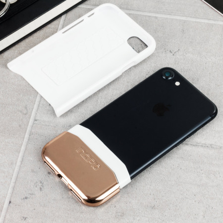 bought this month incipio edge chrome iphone 7 case white opal chrome rose gold