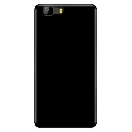 Olixar FlexiShield Doogee X5 Gel Case - Solid Black