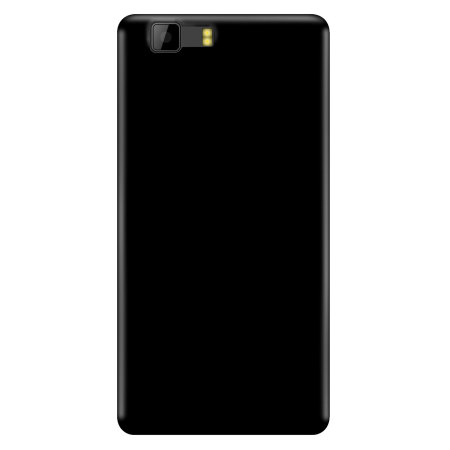 Olixar FlexiShield Doogee X5S Gel Case - Solid Black