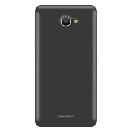 Olixar FlexiShield Alcatel POP 4S Gel Case - Smoke Black