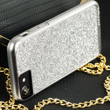 Prodigee Sparkle Fusion iPhone 7 Glitter Case - Silver
