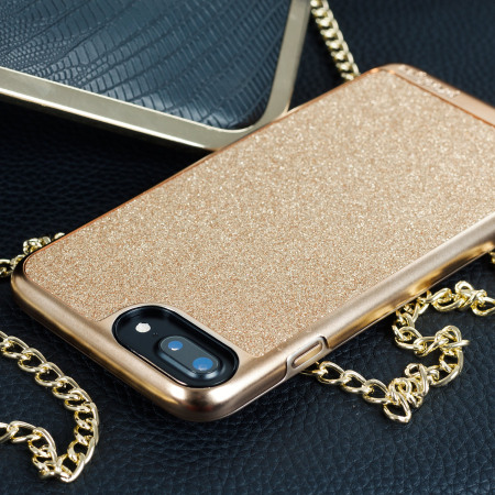new arrival 444d8 19db2 Prodigee Sparkle Fusion iPhone 7 Plus Glitter Case - Rose Gold