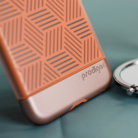 Prodigee Stencil iPhone 7 Plus Case - Rose / Rose Gold