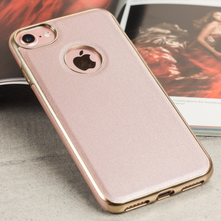 iphone 7 gold olixar makamae leather style iphone 7 gold 11531