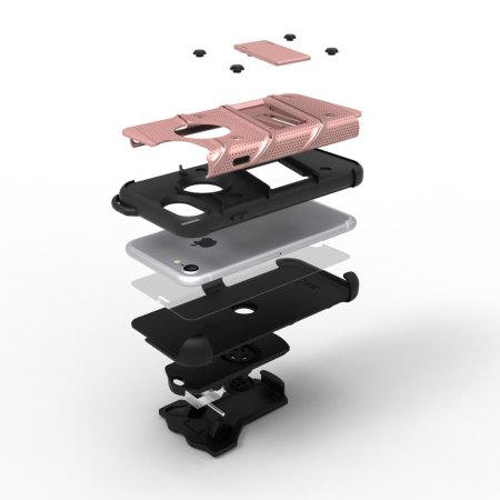 adjusting discharge zizo bolt series iphone 7 tough case belt clip gold black Tori was added