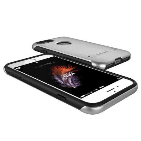 VRS Design Duo Guard iPhone 7 Case - Satin Silver