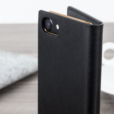 understanding, Verizon slg d5 iphone 7 plus calfskin leather wallet case black morewith