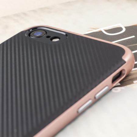 olixar x duo iphone 7 case carbon fibre rose gold 25-Aug-14, and