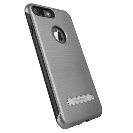 Coque iPhone 7 Plus VRS Design Duo Guard – Argent Sombre