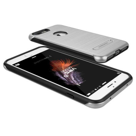 VRS Design Duo Guard iPhone 7 Plus Case - Satin Silver