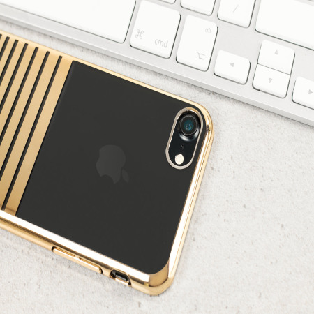 Olixar Melody iPhone 8 / 7 Case - Gold