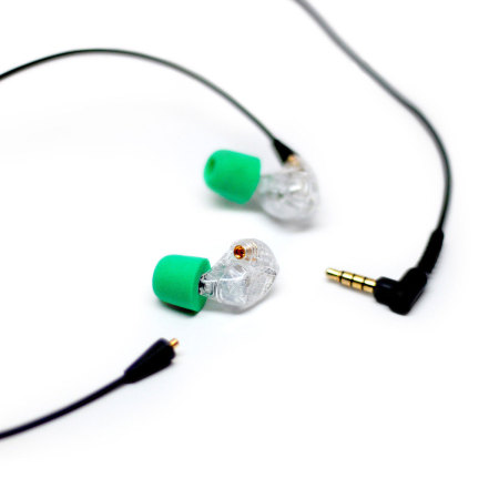 ADVANCED SOUND Model 3 Hi-resolution Wireless In-ear Monitors - Clear