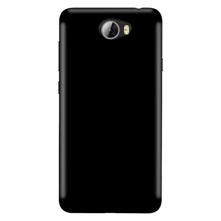 Olixar FlexiShield Huawei Y5II Gel Case - Solid Black