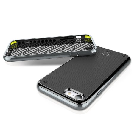 Patchworks Flexguard Bumper iPhone 8 / 7 Case - Silver
