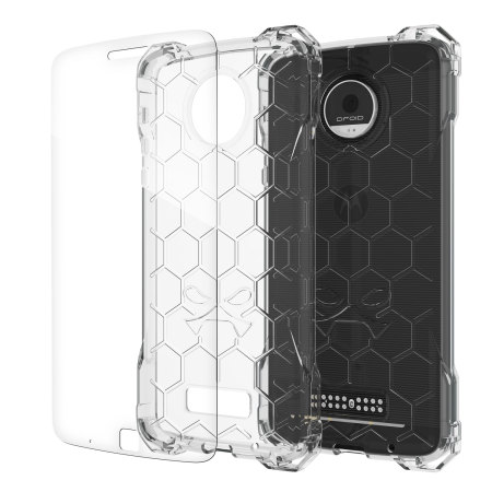 Ghostek Covert Motorola Moto Z Force Bumper Case - Clear