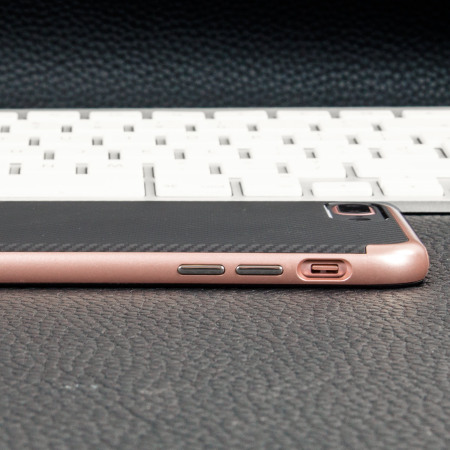 fanboi does olixar x duo iphone 7 plus case carbon fibre metallic grey 11-11 digital