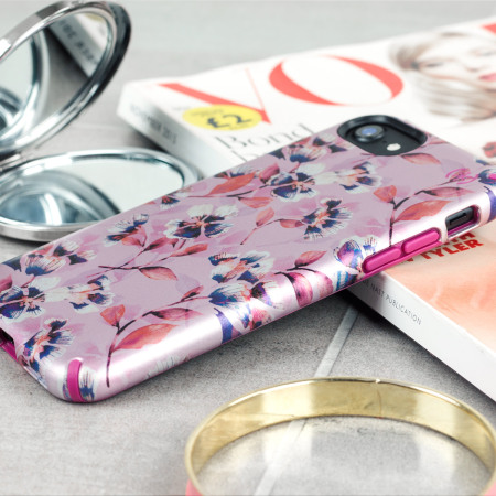newest collection 7e6c3 4a469 Speck Presidio Inked iPhone 8 / 7 Case - Magenta / Pink Flower