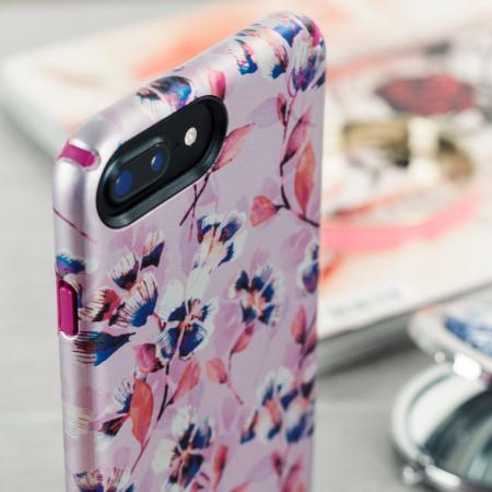 size 40 fd268 46b85 Speck Presidio Inked iPhone 7 Plus Case - Magenta / Pink Flower