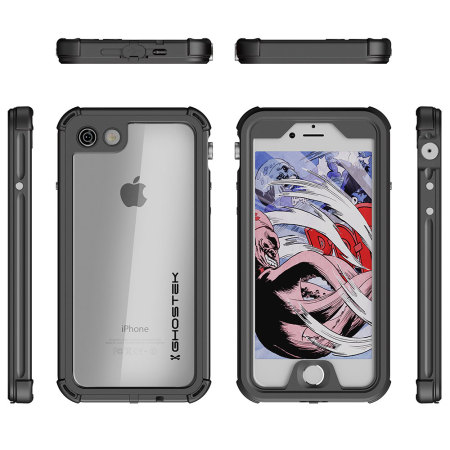 case device ghostek atomic 3 0 iphone 7 waterproof tough case black 2 has chance