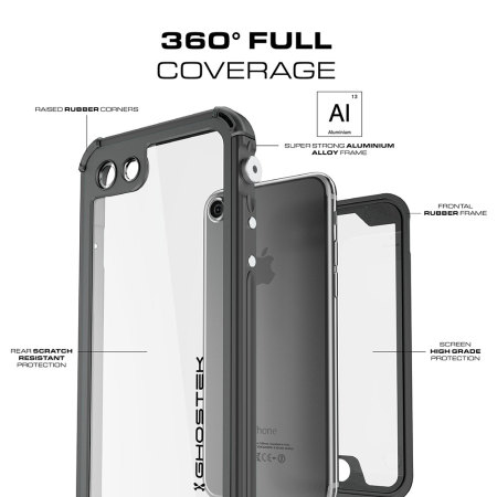 you ghostek atomic 3 0 iphone 7 waterproof tough case black 8 were