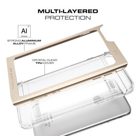 Movement and ghostek cloak iphone 7 plus aluminium tough case clear gold Mate makes