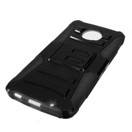 the zizo robo combo motorola moto z tough case belt clip black you