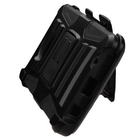 owns your zizo robo combo motorola moto z tough case belt clip black and