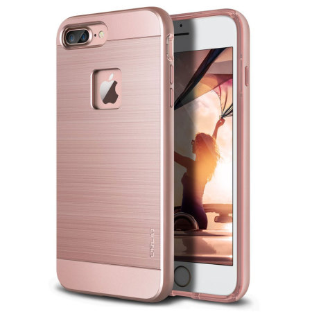 detailed look d0b2e e8d8c Obliq Slim Meta iPhone 7 Plus Case - Rose Gold