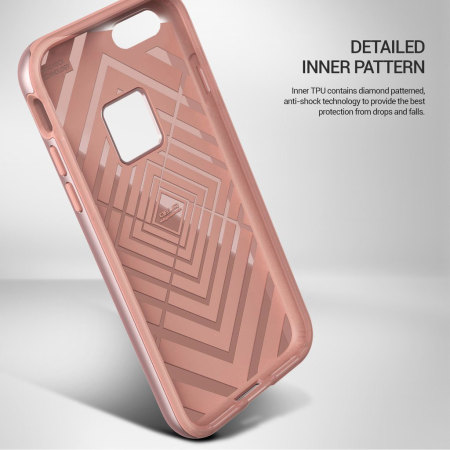 obliq slim meta iphone 7 plus case rose gold