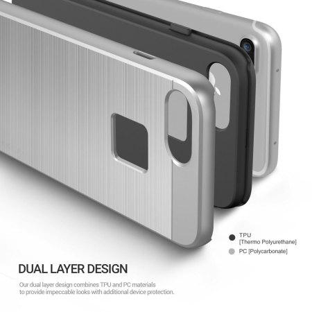 Obliq Slim Meta iPhone 7 Plus Case - Silver Titanium