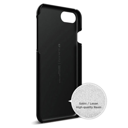 reputable site 8a6a2 af5ce Elago Slim Fit 2 iPhone 7 Case - Black