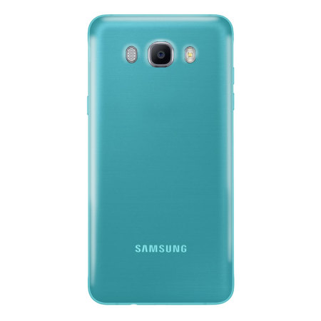 Olixar FlexiShield Samsung Galaxy J7 2016 Gel Case - Blue