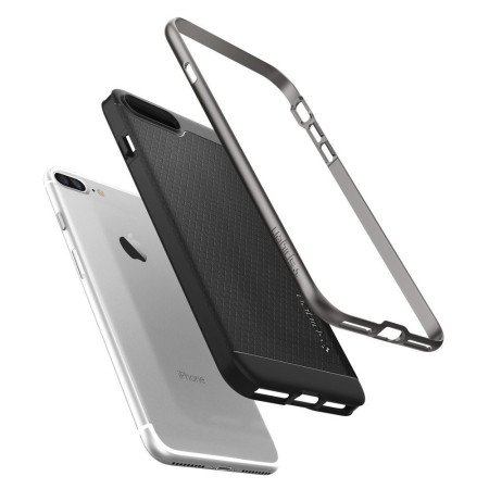 Spigen Neo Hybrid iPhone 7 Plus Case - Gun Metal