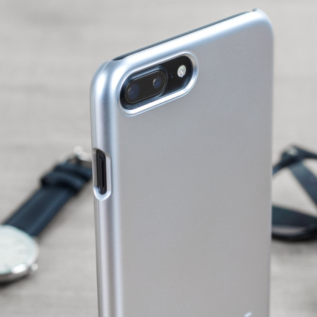 Spigen Thin Fit iPhone 7 Plus Shell Case - Satin Silver