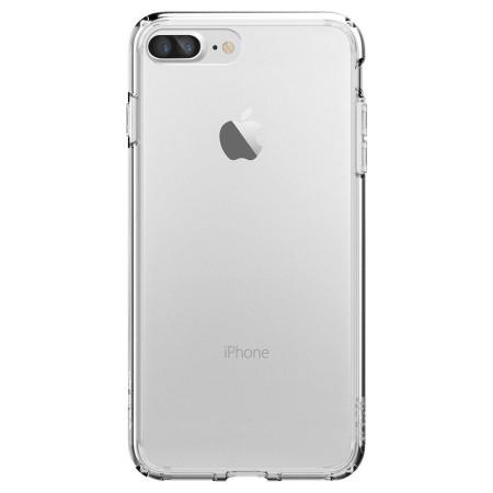 pretty nice d90fe 68b29 Spigen Ultra Hybrid iPhone 7 Plus Bumper Case - Crystal Clear