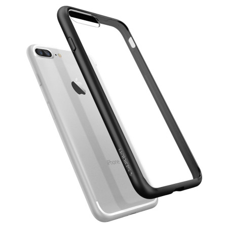 c4aff273bc1 Funda iPhone 7 Plus Spigen Ultra Hybrid - Negra